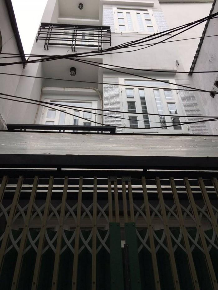 Hẻm 73/15 Tân Hải,P.13, Q. Tân Bình 40m2, 3 lầu, 2,85 tỷ TL, nhà mới vào ở ngay