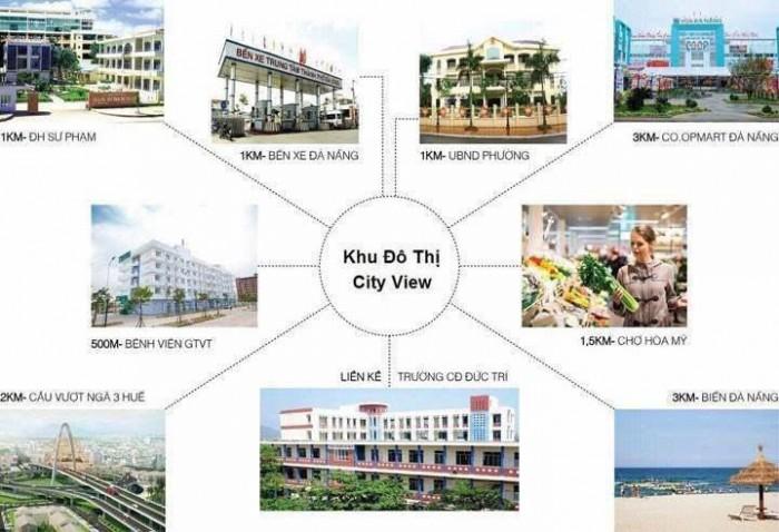 Đất Nền Dự Án City View Trong Lòng Trung Tâm Quận Liên Chiểu Đà Nẵng Hổ Trợ Vay Vốn 70%