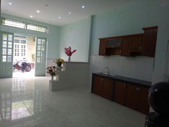 Nhà 1 trệt 2 lầu, đường Nguyễn Thị Sáu, Q12. shr