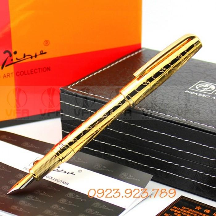 Bán bút ký chính hãng có in logo, bút ký cá sấu, bút ký picasso3
