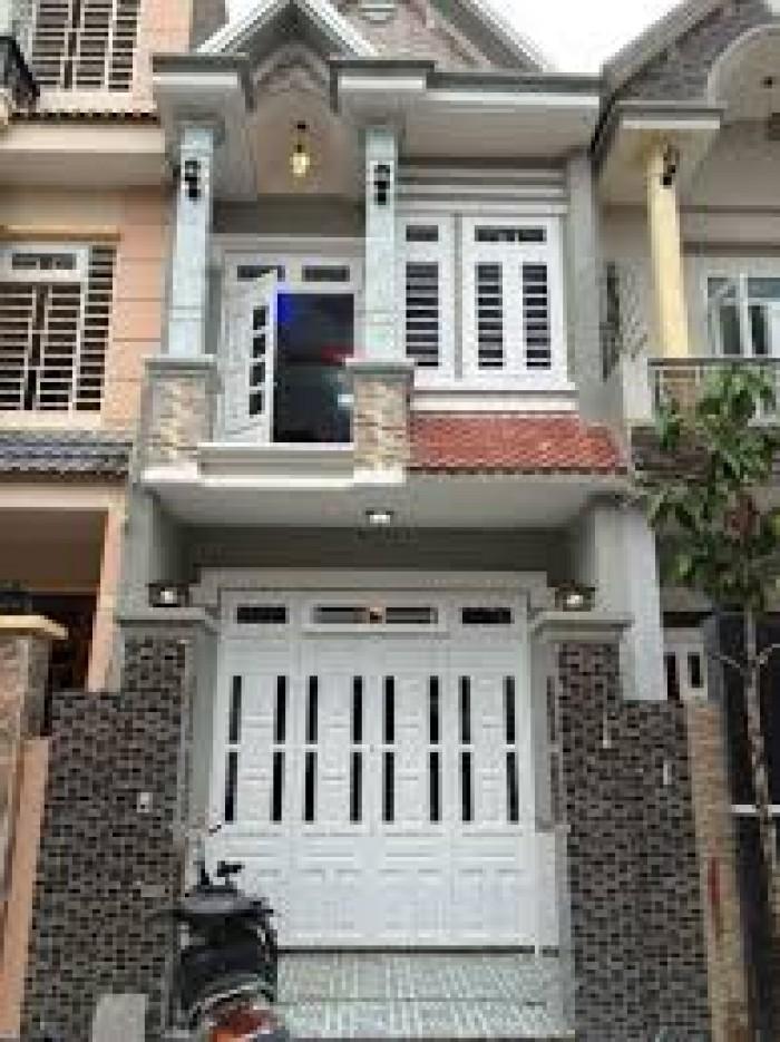 Nhà xây mới 100% 1 trệt 1 lầu 460tr SHR ngay ngã 5 đường Nguyễn Hữu Trí