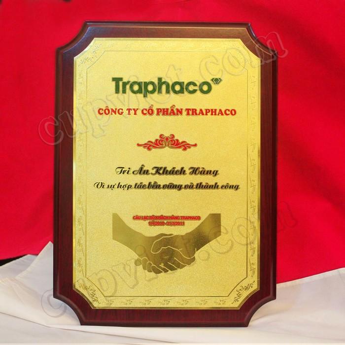 Biểu trưng tri ân khách hàng Công ty Dược phẩm Traphaco10