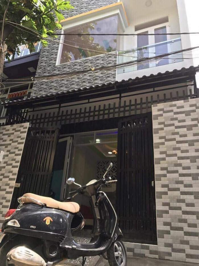 Bán nhà Hẻm 4m 4x12 1 lầu đúc 2.8 Tỷ lê liễu