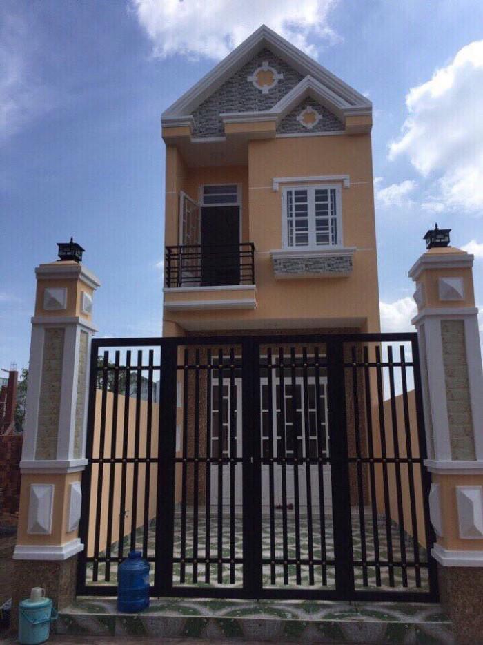 Nhà 1 trệt, 1 lầu, sổ hồng riêng, ngay KCN Vĩnh Lộc 2, chỉ 410 triệu