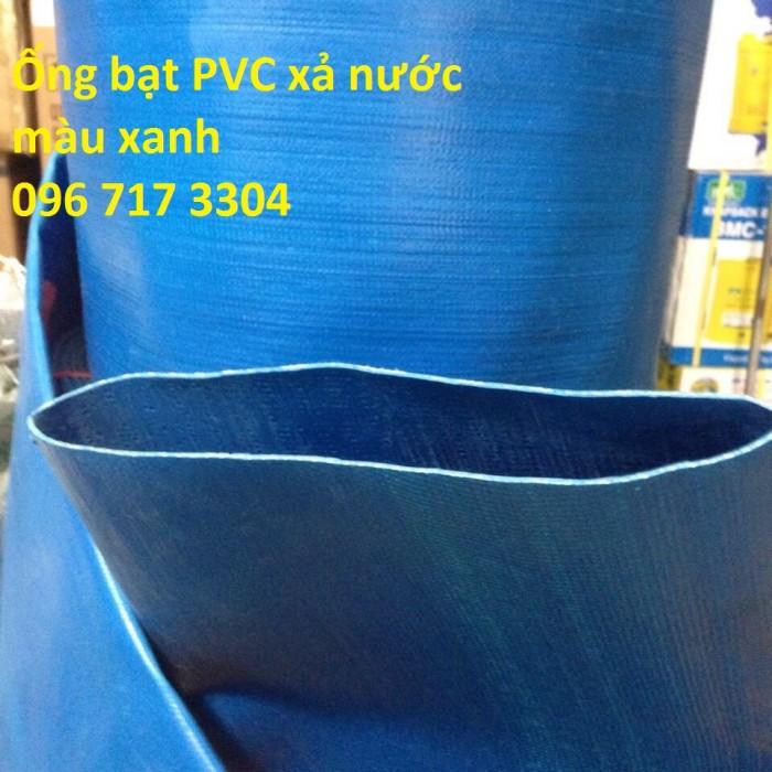 Ống bạt xanh xả nước Phi 100 giá rẻ1