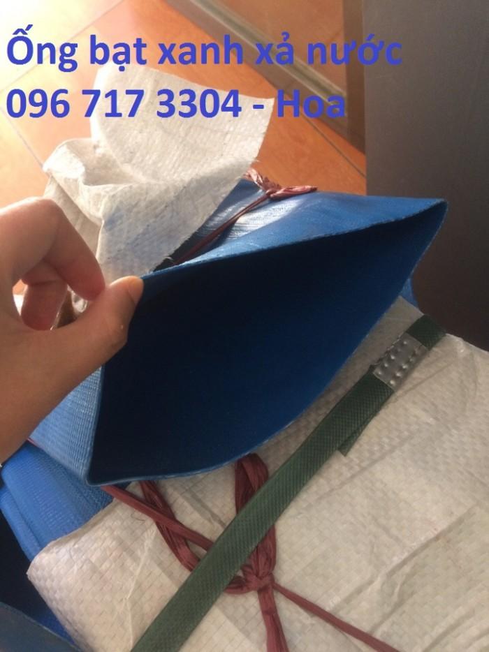 Ống bạt xanh xả nước Phi 100 giá rẻ3