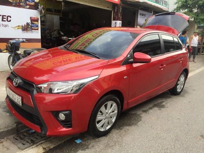 Toyota Yaris E NCP151L - AHPRKU sản xuất 2016 tại Thái Lan 1