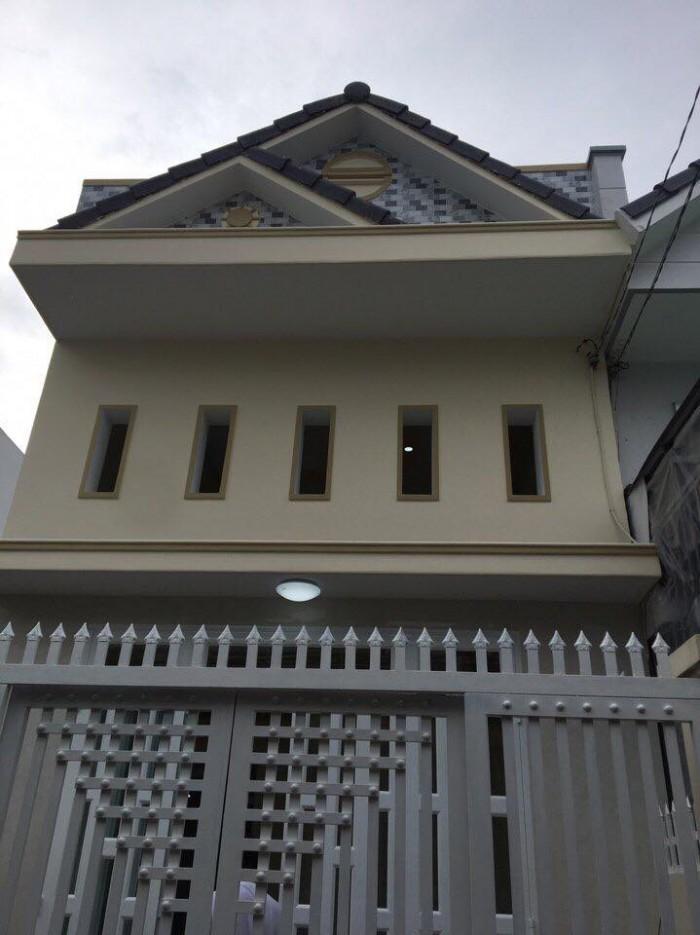 Bán Nhà Mới 1 Trệt 1 Lững Hẻm 120, Đ.Hoàng Quốc Việt 4,5X13M Thổ Cư Giá 970 Triệu.