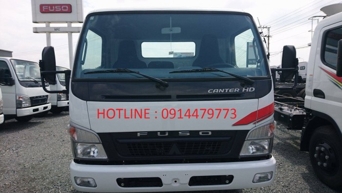 Xe tải fuso canter 4.7- 1.9 tấn. Gía rẻ, có ưu đãi thêm, liên hệ trong tháng 7 để có giá tốt