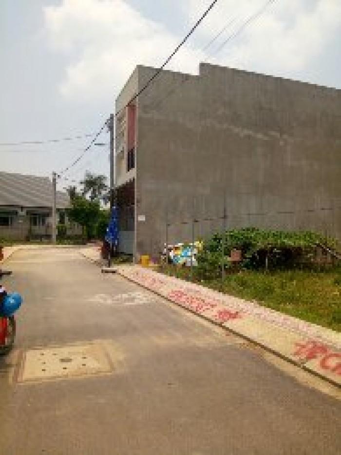 Cần vốn gấp bán đất mặt tiền Kinh Doanh giá 1,52 tỷ ngay chợ Long Trường, sổ riêng