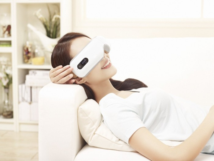 Máy Massage mắt Breo iSee4 Wireless Digital Eye Massager - Hàng Mỹ