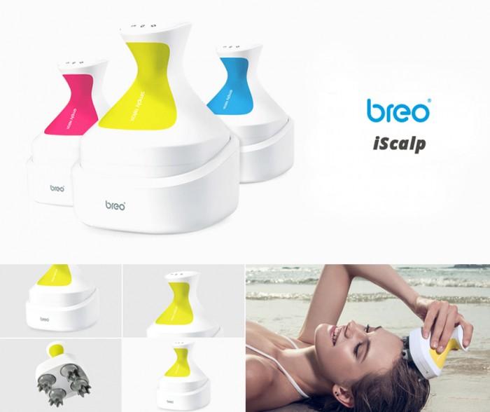 Máy mát xa đầu Breo iScalp Scalp and Body Massager - Hàng Mỹ