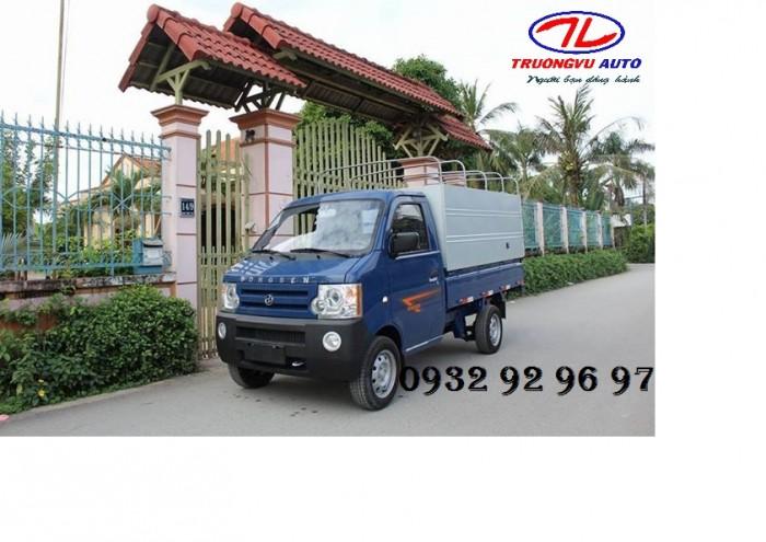 xe tải nhẹ đài loan 870 kg thùng lửng
