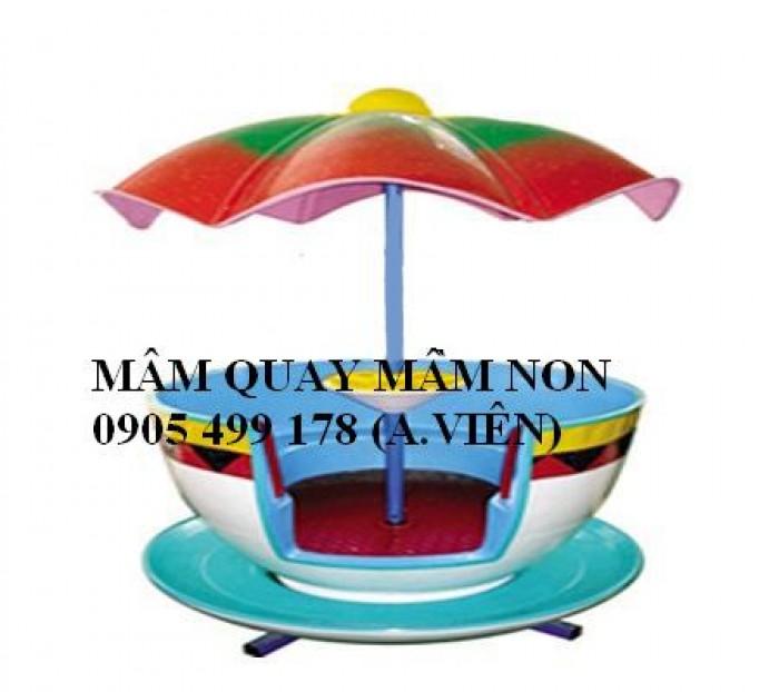 Mâm quay mầm non -Giá rẻ- Giao hàng miễn phí tại Đà Nẵng10