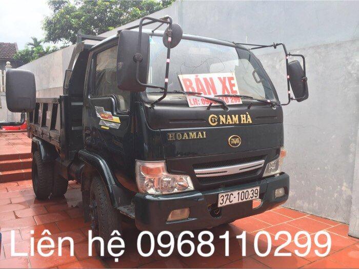 Bán xe tải ben hoa mai đời 2014 trọng tải 1,8 tấn xe ben tự đổ 1 cầu 0