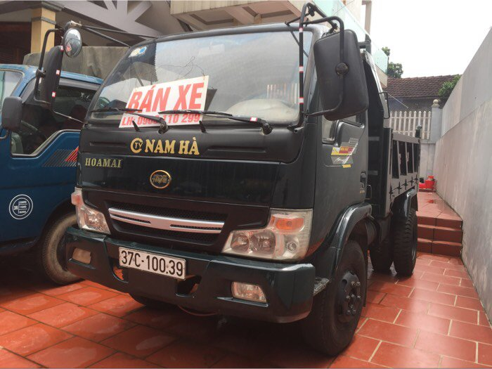 Bán xe tải ben hoa mai đời 2014 trọng tải 1,8 tấn xe ben tự đổ 1 cầu 1