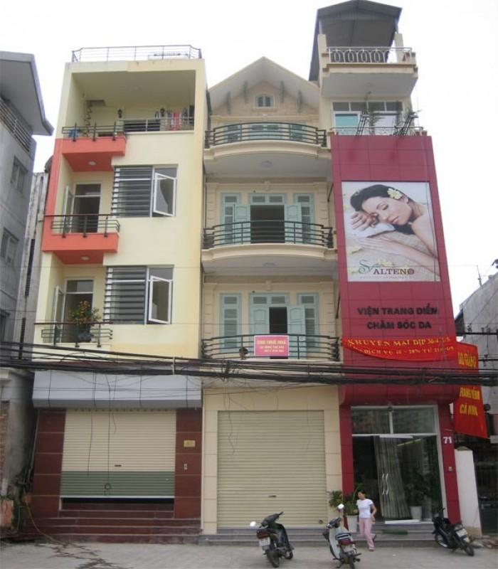 Cho thuê nhà mặt phố Định Công, giá rẻ