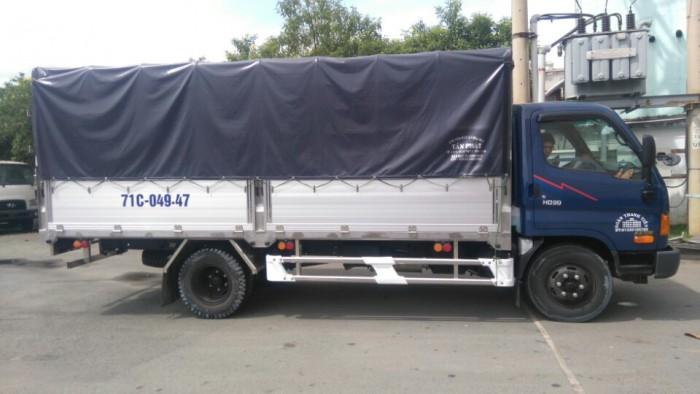 Xe Hyundai HD99 6,5 tấn, mua xe trả góp 80%, xe có sẵn giao ngay