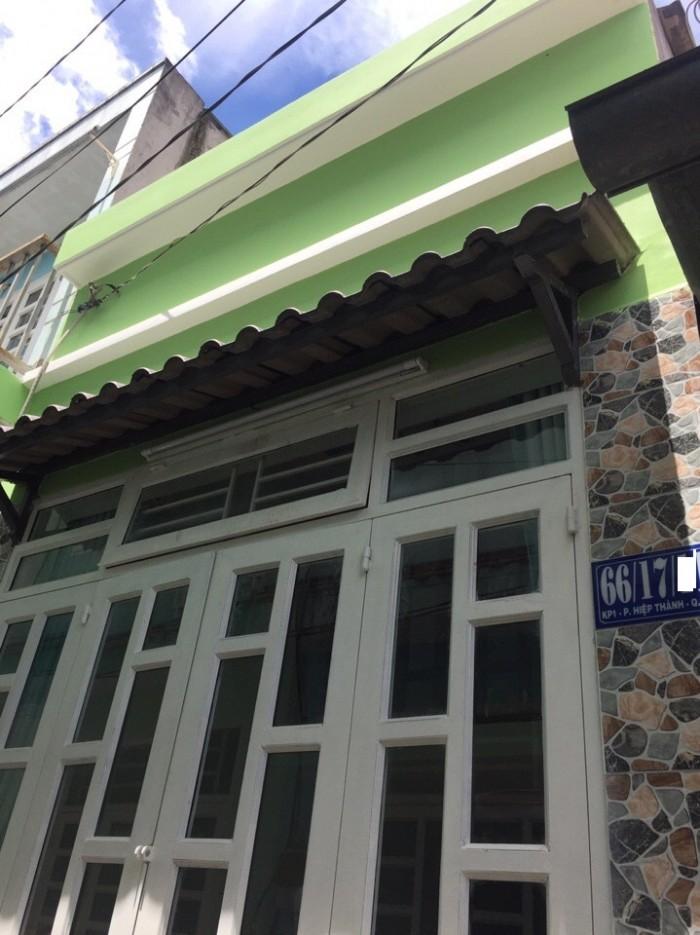 Bán Nhà Đường Lê Văn Khương , Phường Hiệp Thành, quận 12, Hướng Đông Bắc