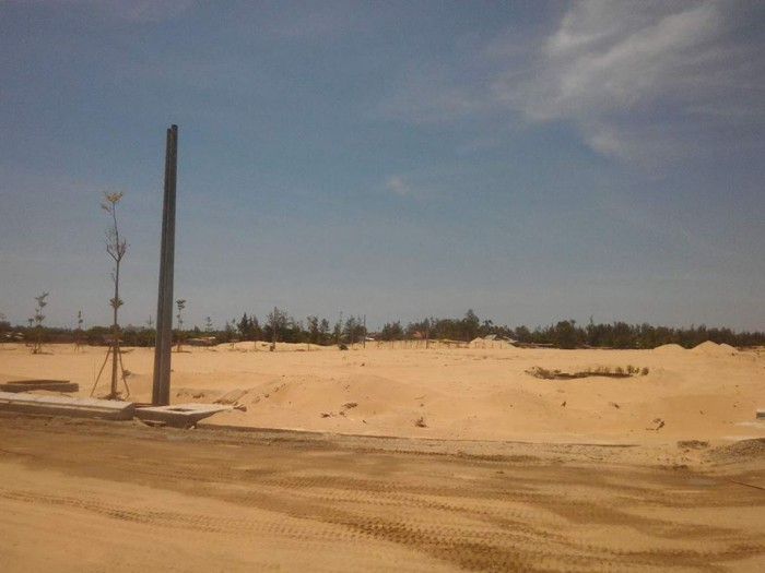 Bán Gấp lô đất nằm trên đường Trường Sa nối dài