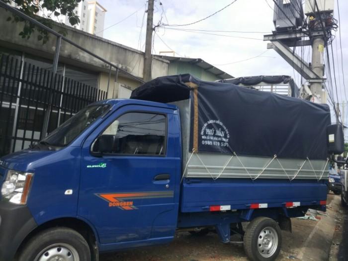 Bán xe tải nhỏ dongben 870kg trả góp 90% trả trước 20 triệu giao xe ngay 0