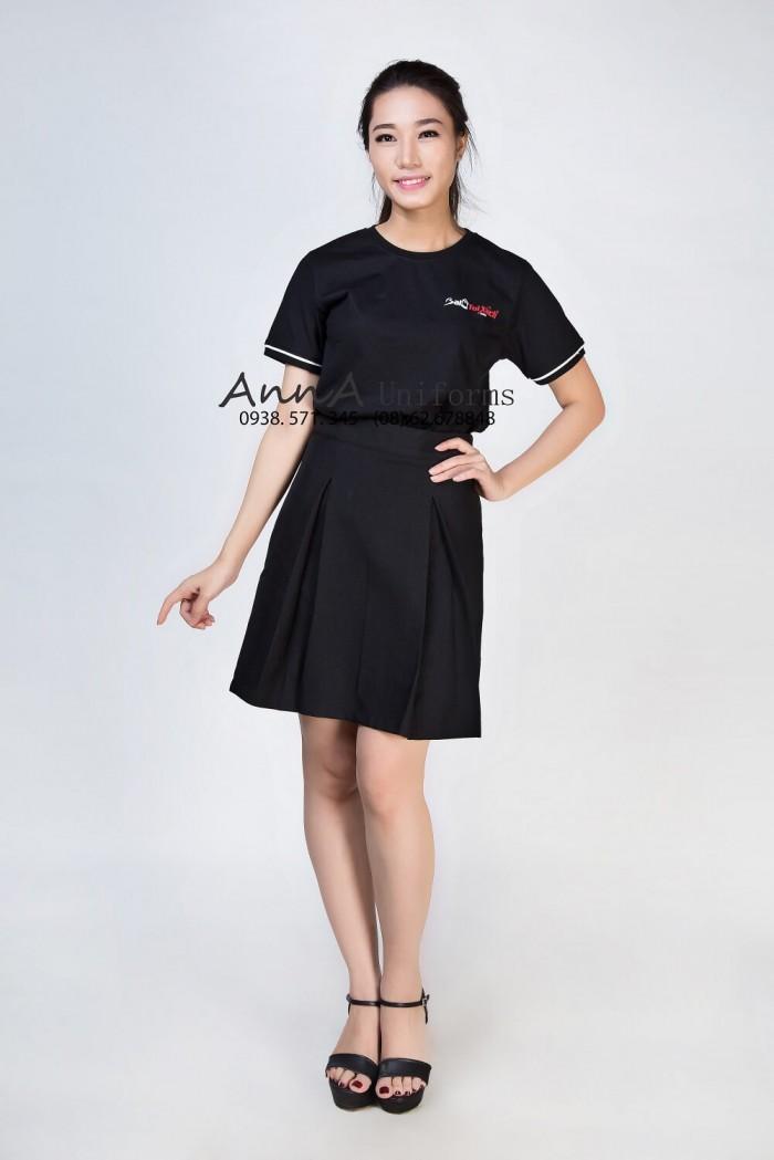 Xưởng may áo thun nữ đẹp, may áo thun nữ chất lượng cao, cam kết giao hàng đúng tiến độ