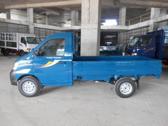 Xe tải nhẹ máy xăng 900kg, 990kg trả góp vay 80%, lãi suất ưu đãi 5