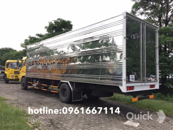 Bán xe tải thùng kín dongfeng nhập khẩu nguyên chiếc thùng dài 9.3m