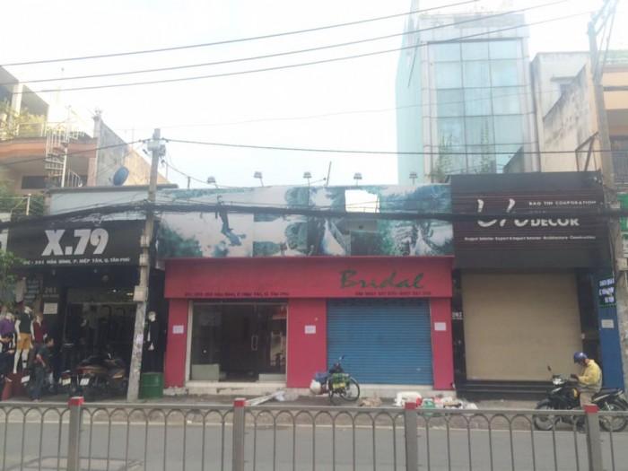 Cho thuê nhà mặt tiền ngay các tuyến đường sầm uất, khu dân cư đông đúc Quận Tân Phú