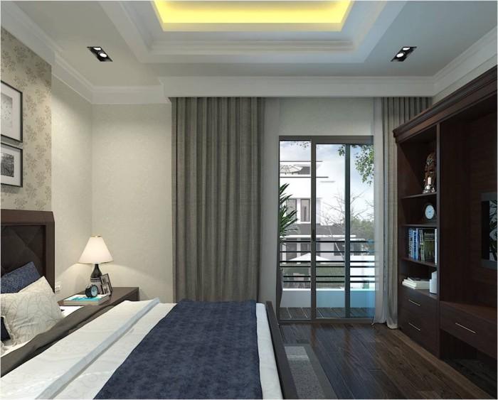 Nhà phố Phan Đình Phùng, quận Ba Đình, 85m 4 tầng, mặt tiền 6m.