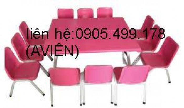 bàn ghế mầm non cho trẻ1
