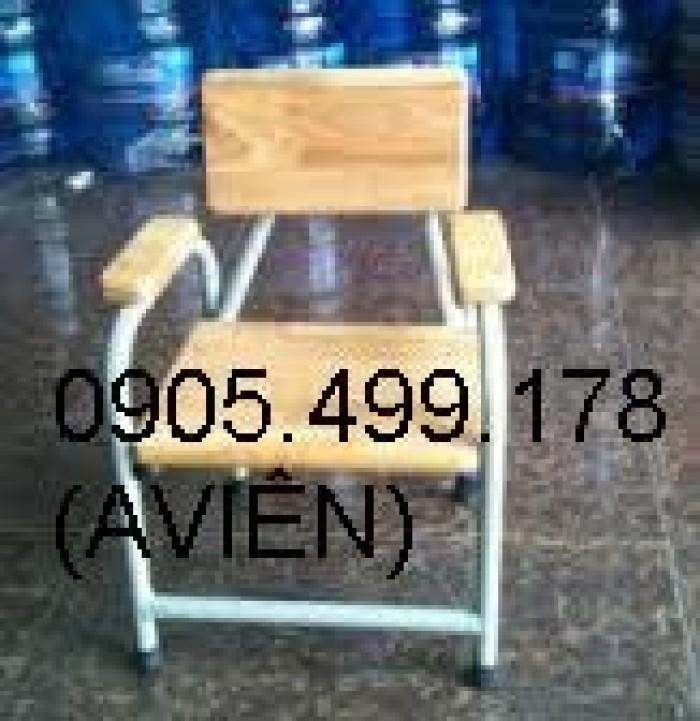 ghế gỗ mầm non cho trẻ 4