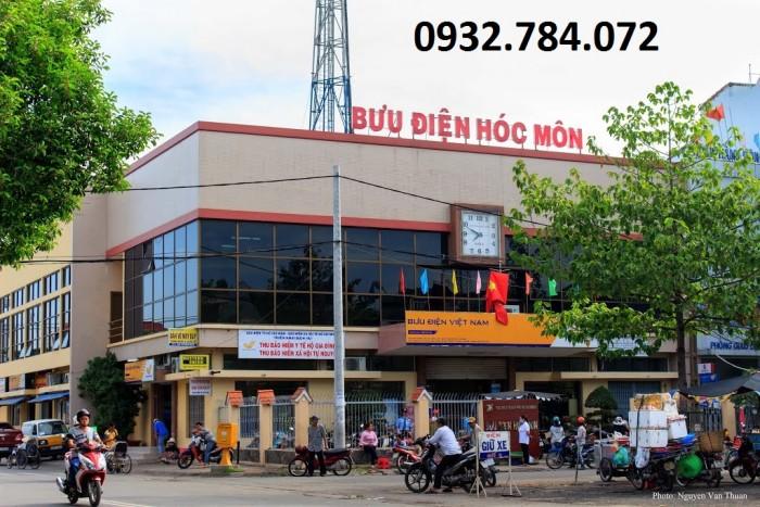 Đất thổ cư ngay trung tâm hành chính Huyện Hóc Môn, sổ riêng, bao sang tên