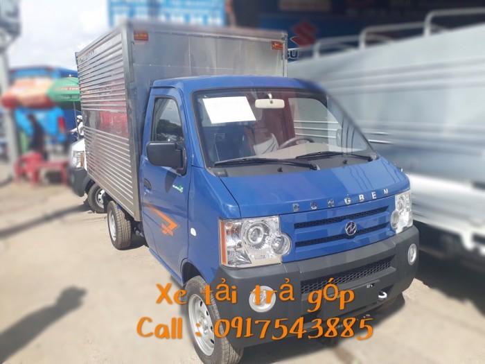 Xe tải DongBen thùng kín thùng dài 2m5 0