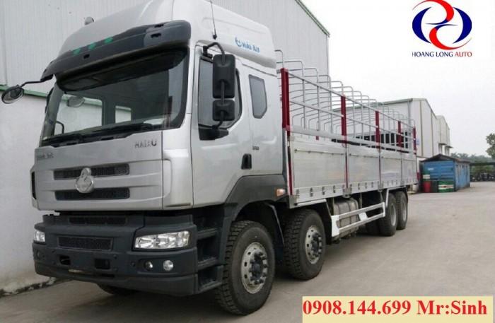 Xe tải chenlong 4 chân | xe tải chenlong 4 chân thùng nhôm