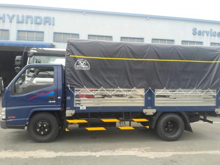 Mua xe tải Đô Thành Iz49 giá rẻ, Xe tải Hyundai 2,4 tấn chỉ trả trước 80 triệu, giao xe ngay. 5