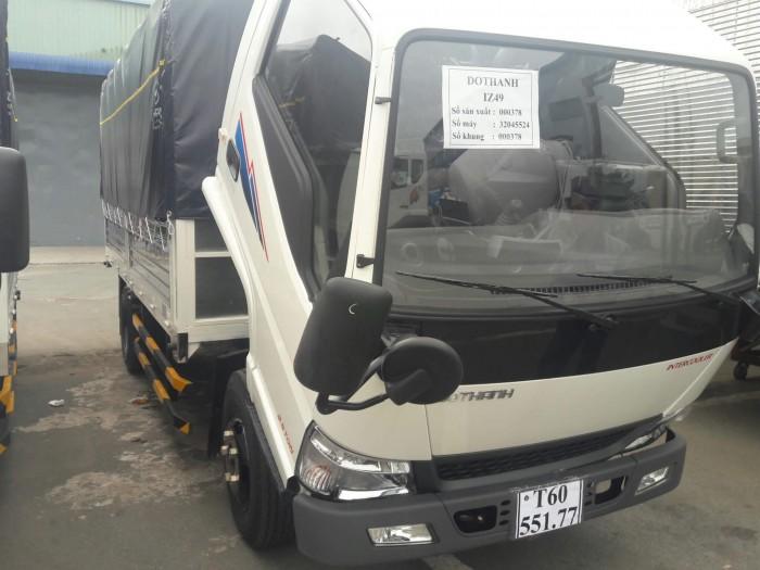 Mua xe tải Đô Thành Iz49 giá rẻ, Xe tải Hyundai 2,4 tấn chỉ trả trước 80 triệu, giao xe ngay. 6
