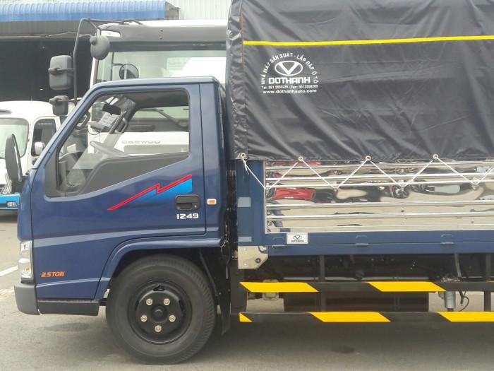Mua xe tải Đô Thành Iz49 giá rẻ, Xe tải Hyundai 2,4 tấn chỉ trả trước 80 triệu, giao xe ngay. 8