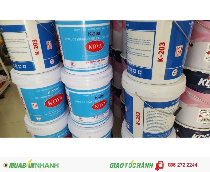 Phan gia phúc bán sơn nước KOVA bóng K871 giá rẻ nhất Long An0