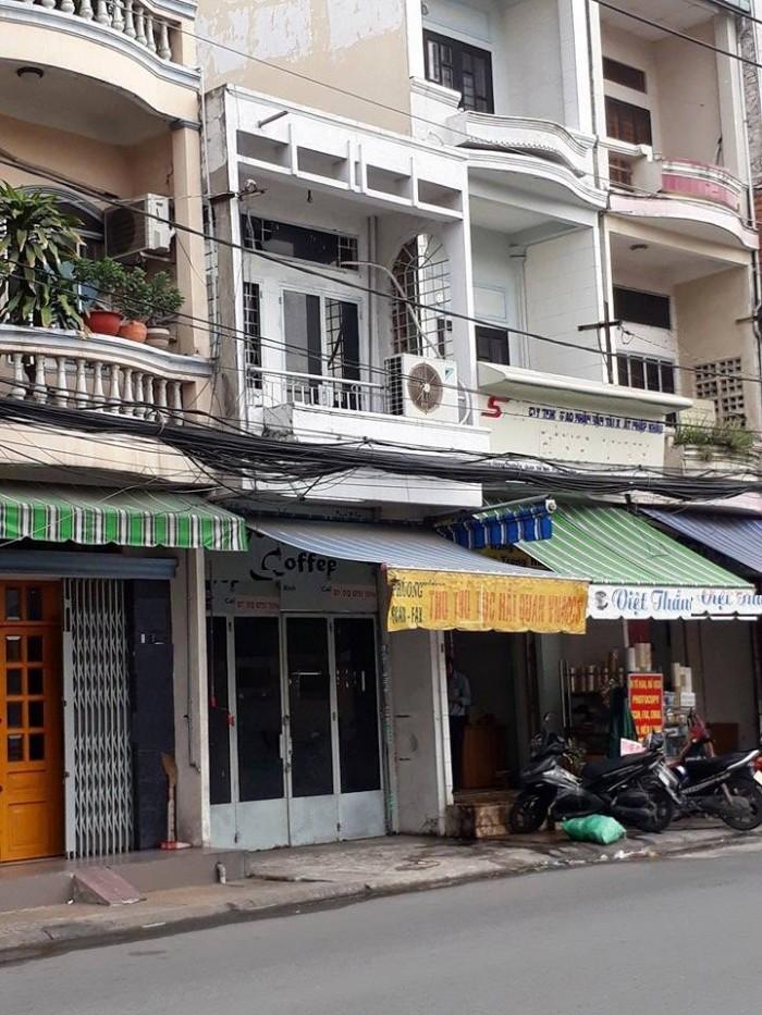 Cho thuê nhà nguyên căn đường Hậu Giang,p4,Tân Bình Diện tích: 3x15m2,