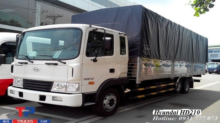 Hyundai HD210 sản xuất năm 2018 Số tay (số sàn) Xe tải động cơ Dầu diesel