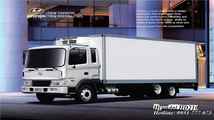 Xe tải Hyundai HD210 14 tấn - Đô Thành - Hỗ trợ giao xe nhanh.