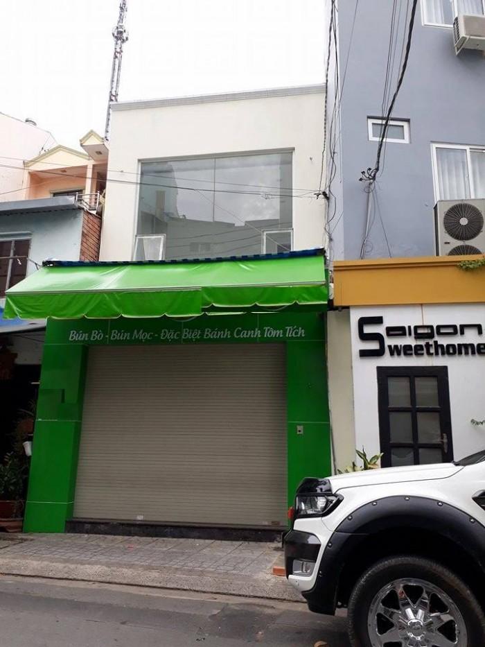Cho thuê nhà nguyên căn mặt tiền đường Đống Đa,p2,Tân  Bình Diện tích:5x14 m2