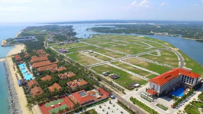 Bán 2 lô đất view sông FPT,đường 27m,720 triệu lô