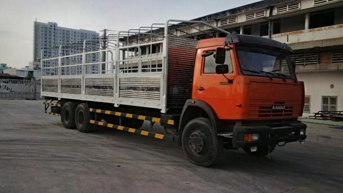 Xe Tải Thùng Kamaz 53229(6X4), Thùng Dài 9M3