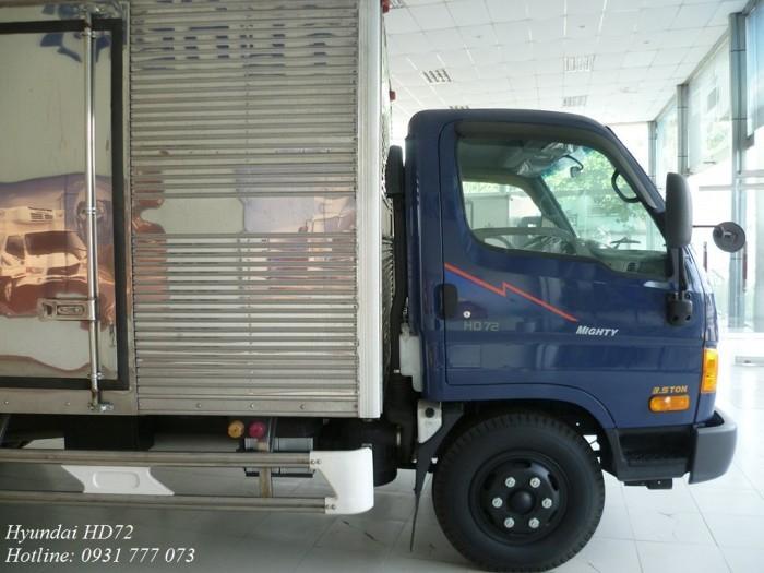 Xe tải HD72 Đô Thành thùng kín inox   Vay trả góp 90% giá trị xe   Trả trước 150 triệu giao xe ngay!