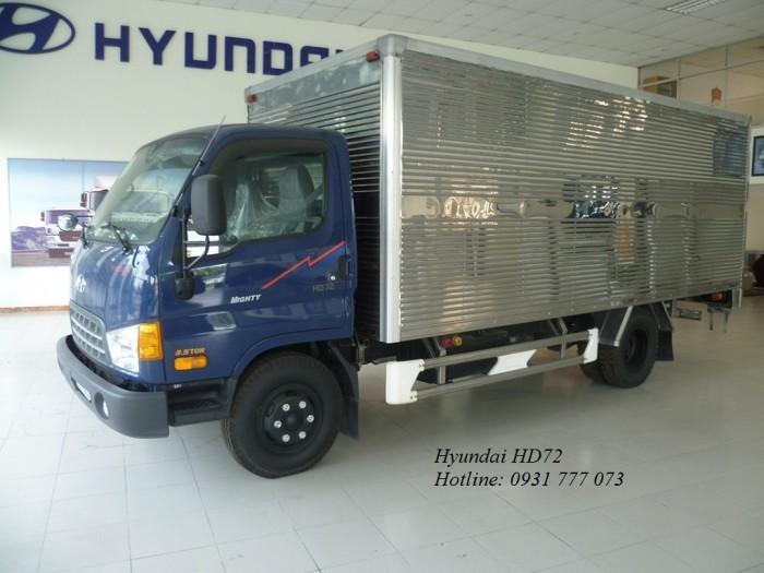 Hyundai HD72 sản xuất năm 2018 Số tay (số sàn) Xe tải động cơ Dầu diesel