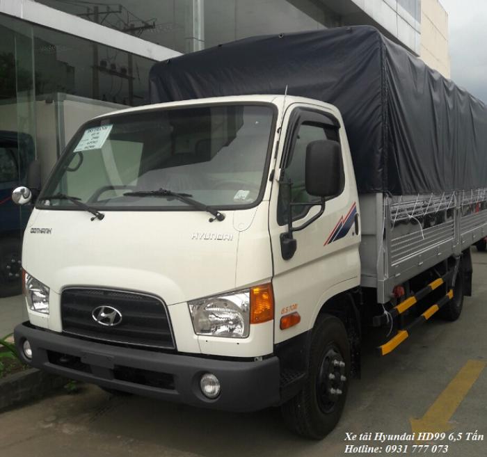 Xe tải Hyundai HD65 2,5 tấn, hoàn thành hồ sơ trong ngày, giao xe trong vòng 5 ngày