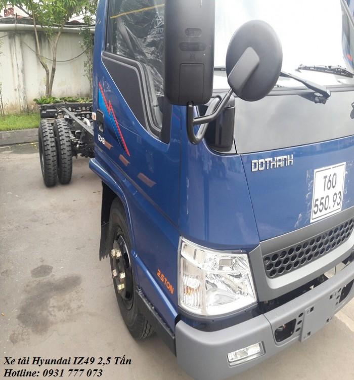 Xe tải Hyundai IZ49 2,5 tấn, hỗ trợ trả góp lãi suất thấp - Hotline: 0931777073 (24/24)