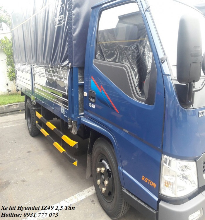Xe tải Hyundai IZ49 2,5 tấn, hoàn tất hồ sơ trong ngày